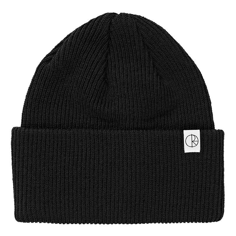 Polar Merino Wool Beanie Black