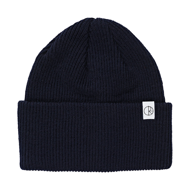Polar Merino Wool Beanie Navy