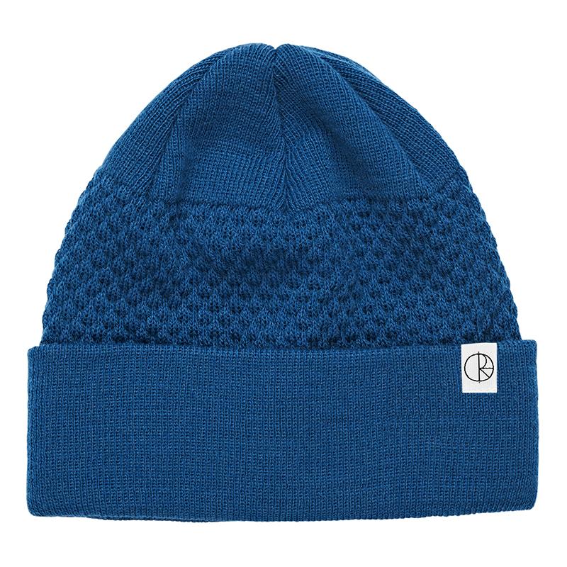 Polar Wobble Beanie Myknos Blue