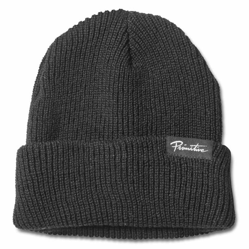 Primitive Jaanie Folder Beanie Black