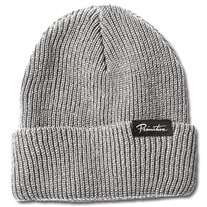 Primitive Jaanie Folder Beanie Heather Grey