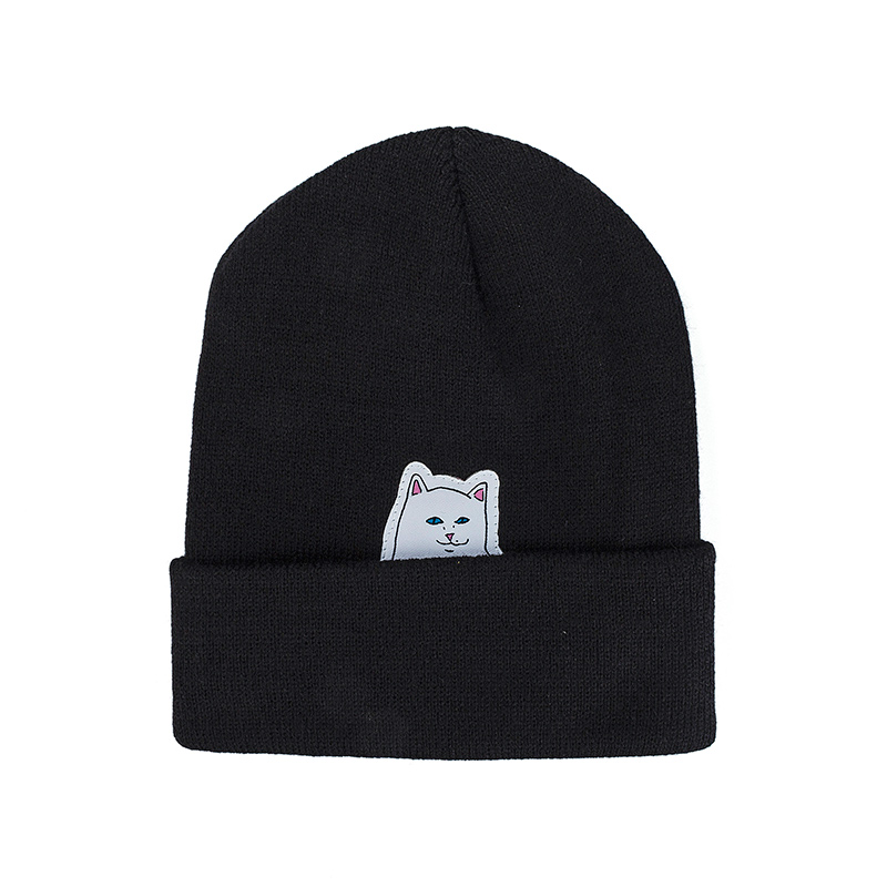 RIPNDIP Lord Nermal Beanie Black