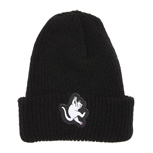 RIPNDIP Hang In There Beanie Black