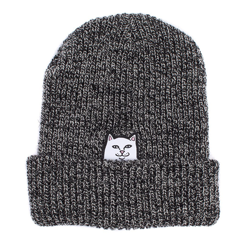 RIPNDIP Lord Nermal Beanie Gray Speckled