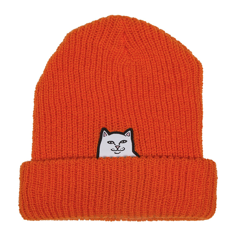 RIPNDIP Lord Nermal Beanie Safety Orange