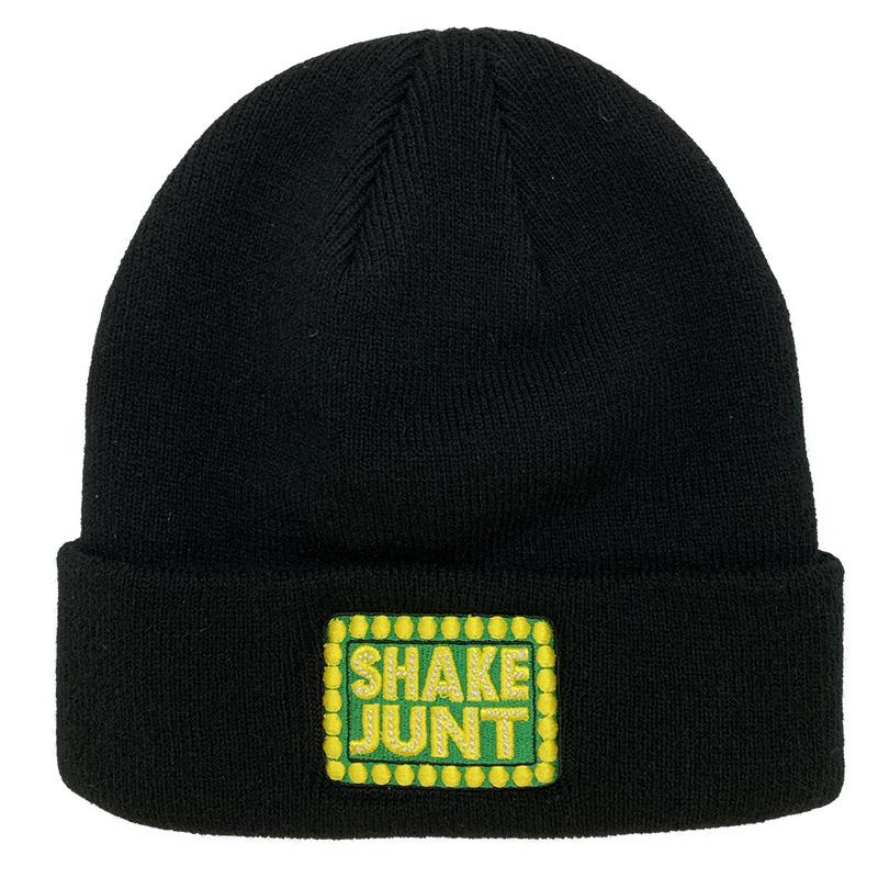 Shake Junt Beanie Box Black