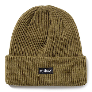 Stussy Small Patch Watch Cap Beanie Green