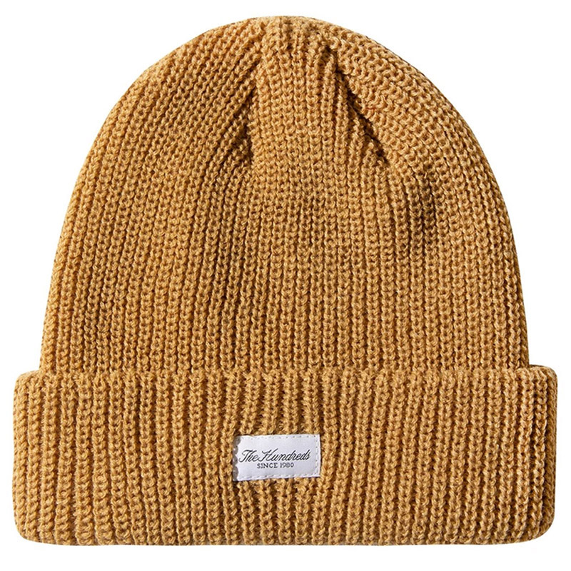 The Hundreds Crisp 2 Beanie Gold