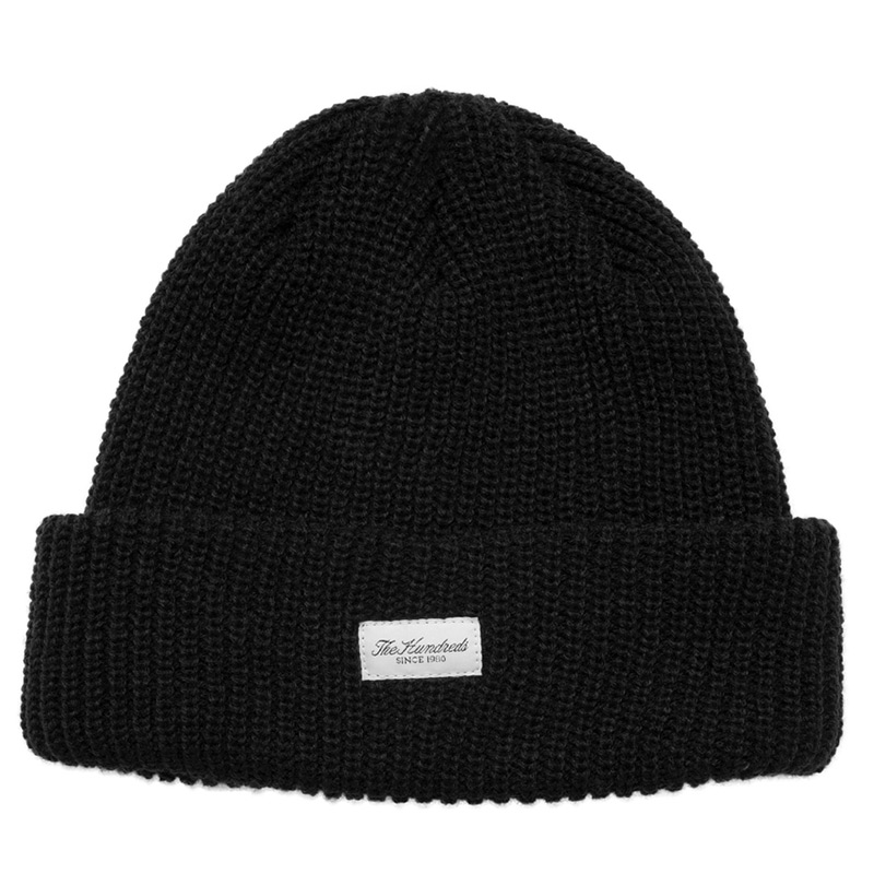 The Hundreds Crisp 2 Beanie Black
