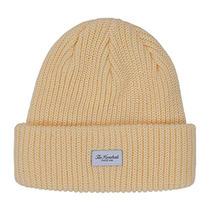 The Hundreds Crisp Beanie Pale Yellow