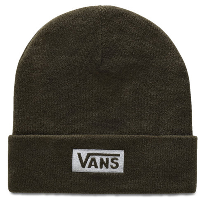 Vans Womens Breakin Curfew Beanie Grape Leaf/White