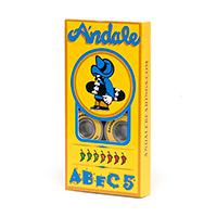 Andale Abec 5 Bearings Yellow