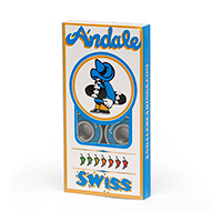 Andale Swiss Bearings Blue