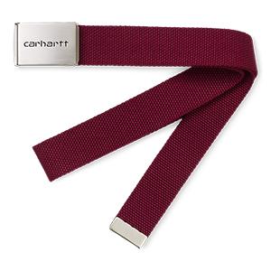 Carhartt Clip Chrome Belt Mulberry