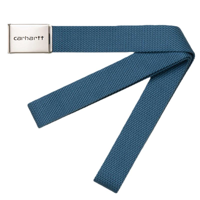 Carhartt Clip Chrome Belt Prussian Blue