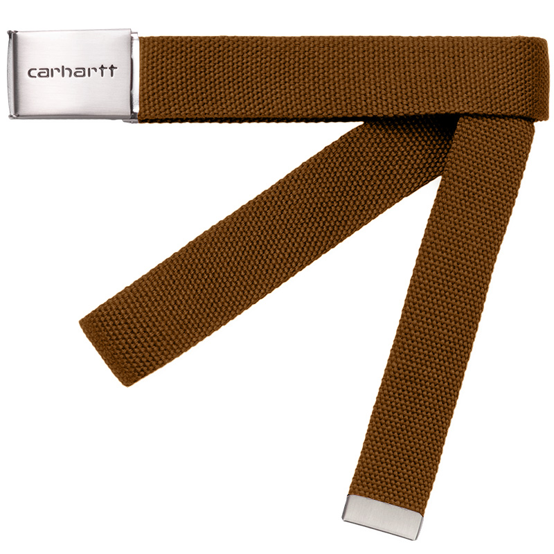 Carhartt WIP Clip Belt Chrome Tawny