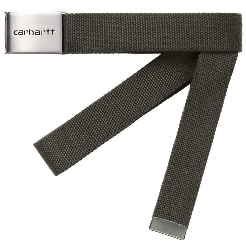 Carhartt WIP Clip Chrome Belt Cypress