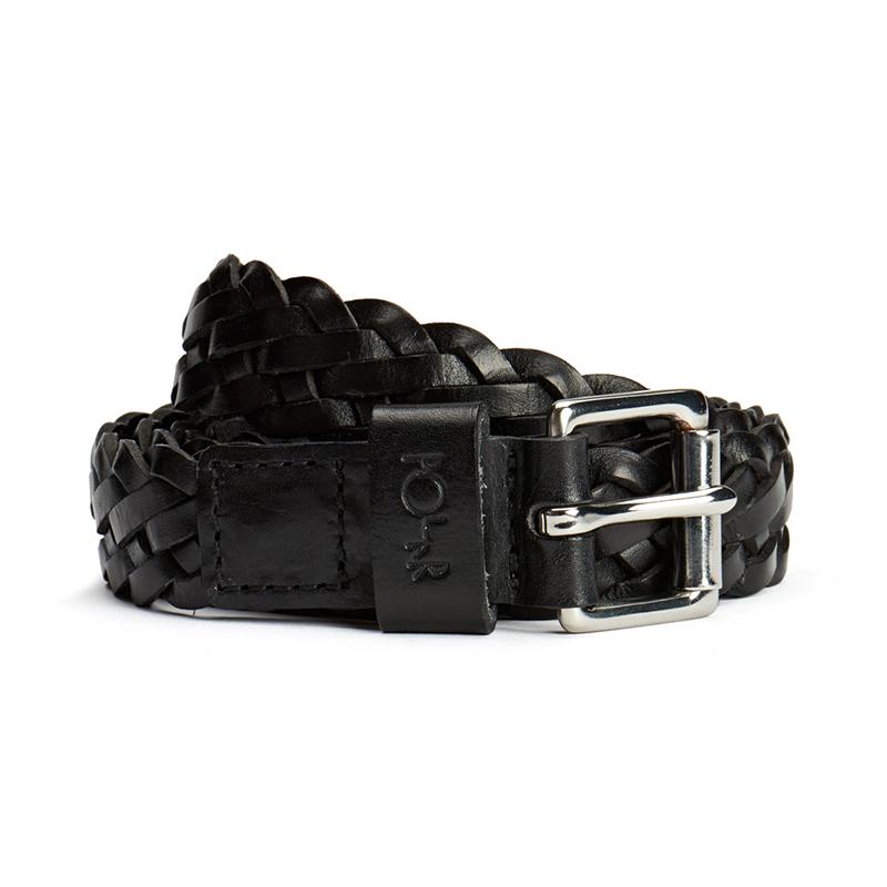 Polar Slim Woven Belt Black 95cm