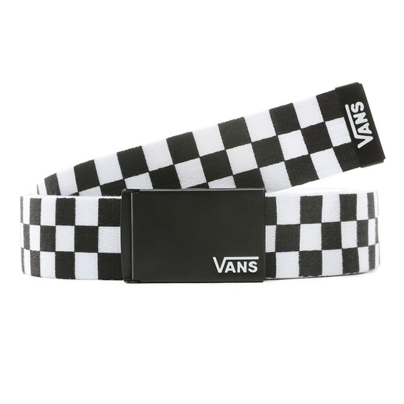 Vans Long Depster Web Belt Black/White
