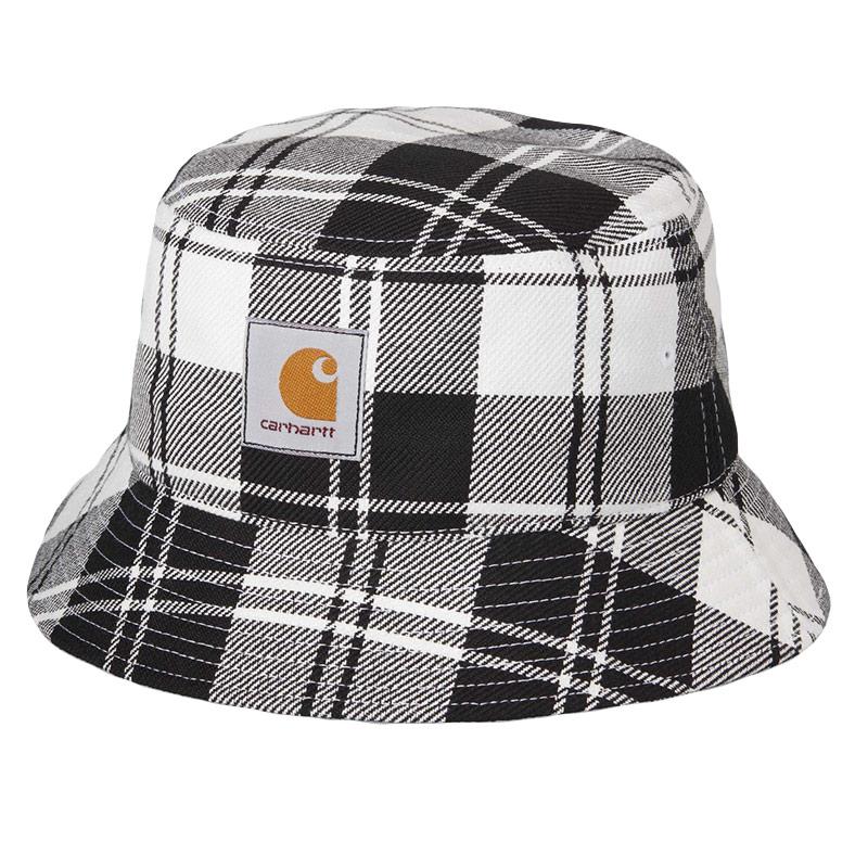 Carhartt WIP Pulford Bucket Hat Pulford Check Wax Check