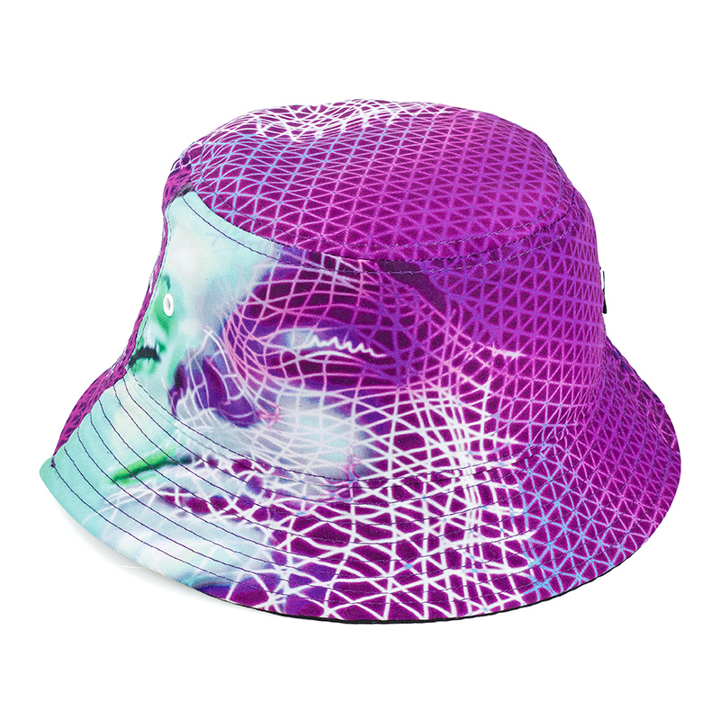 Palace Scape Bucket Hat Pink