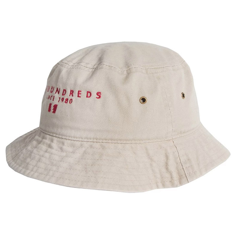 The Hundreds Over Bucket Hat Off White