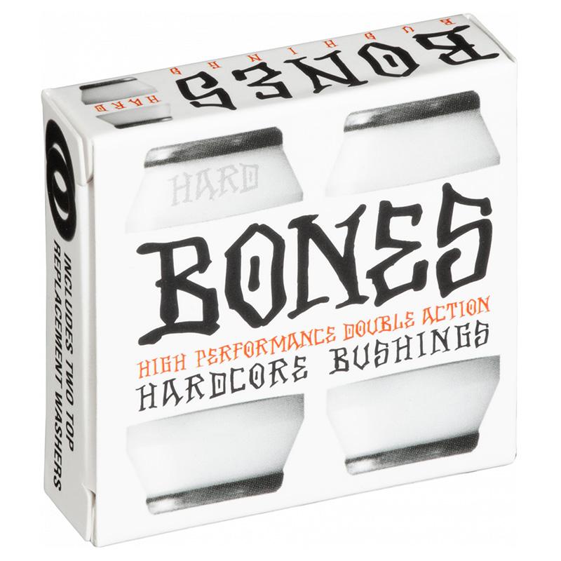 Bones Hardcore Bushings Hard 96A White -2 truck set-