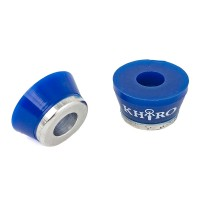 Khiro Aluminum Insert Bushings Blue 85A