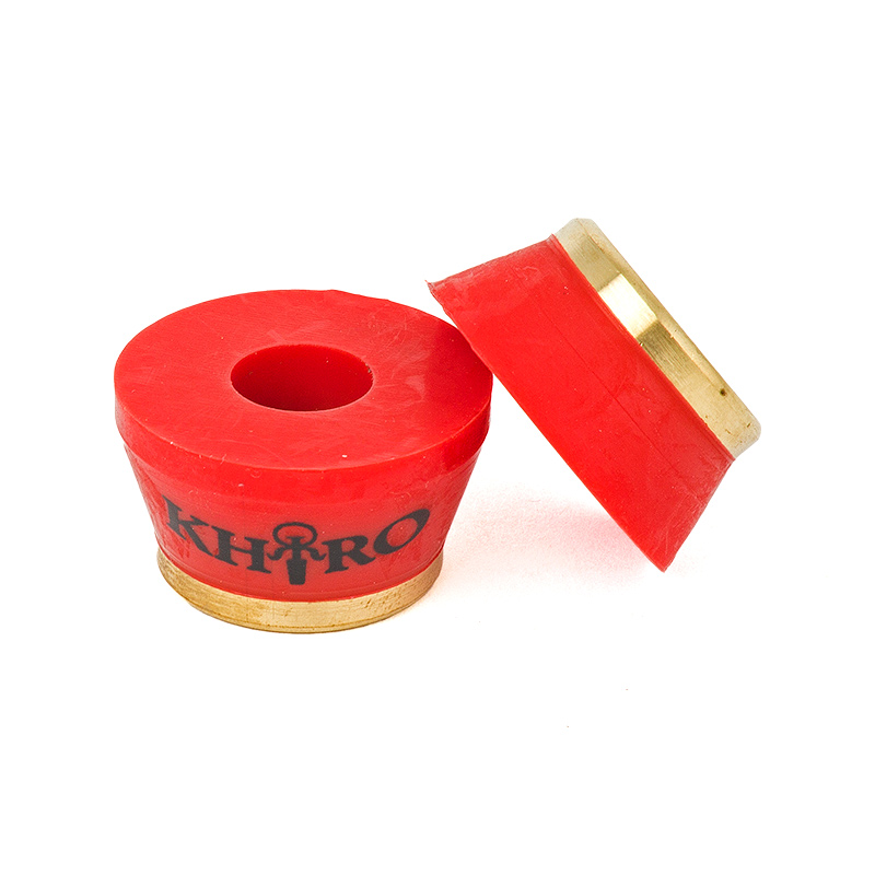 Khiro Gold Insert Bushings Red 90A