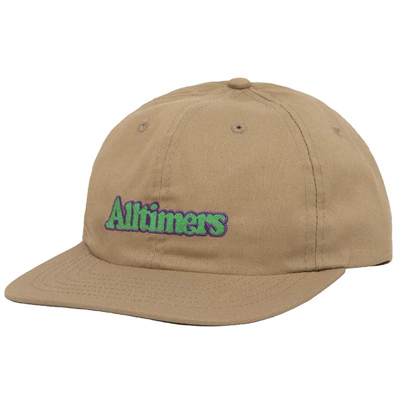 Alltimers Broadway Cap Khaki