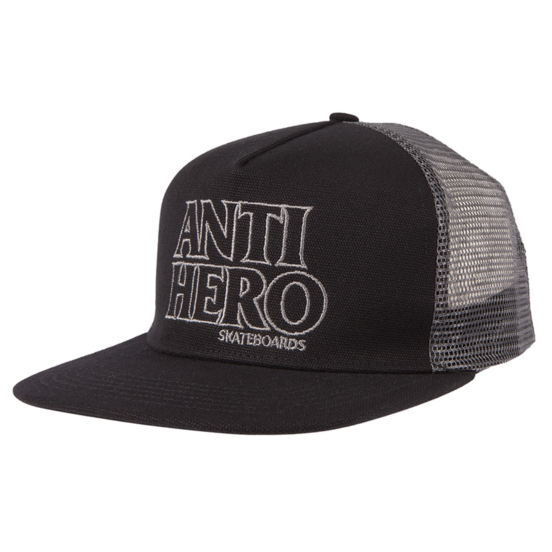 Anti Hero Black Hero Outline Snapback Black/Grey