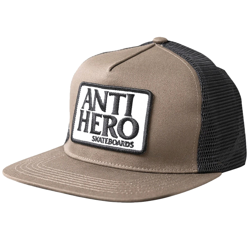 Anti Hero Reserve Patch Snapback Cap Brown/Black
