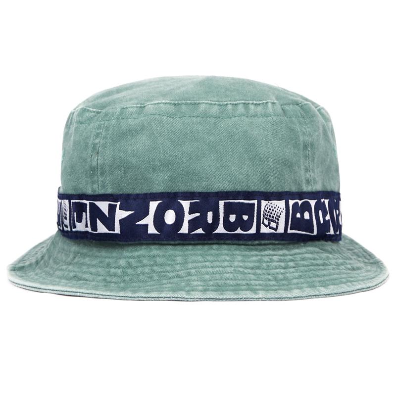 BRONZE 56K Washed Bucket Hat Green