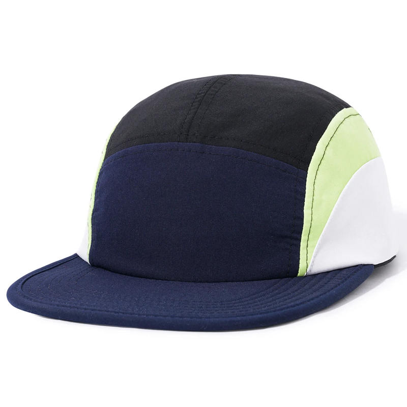 Butter Goods Cresent Camp Cap Navy/Lime/White