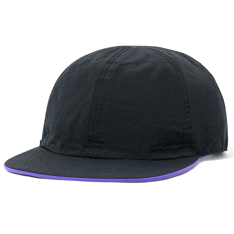Butter Goods Reversible 6 Panel Cap Purple/Black
