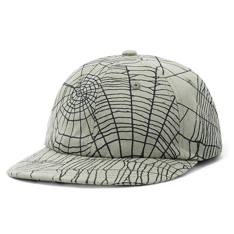 Buttergoods Web 6 Panel Cap Army