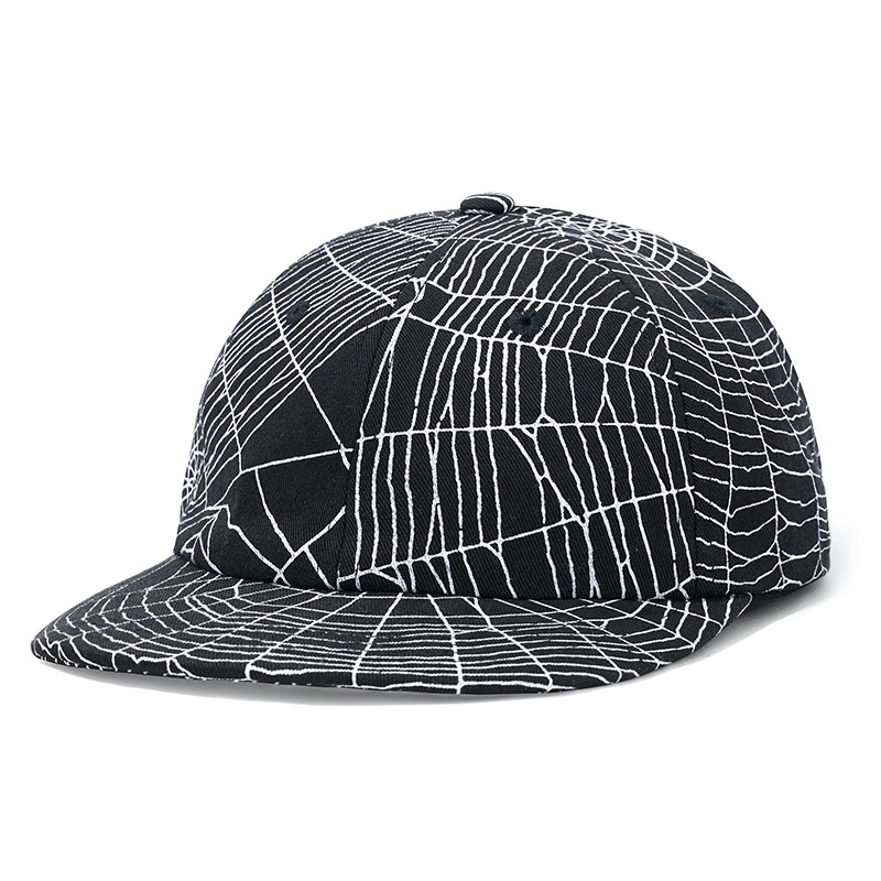 Buttergoods Web 6 Panel Cap Black
