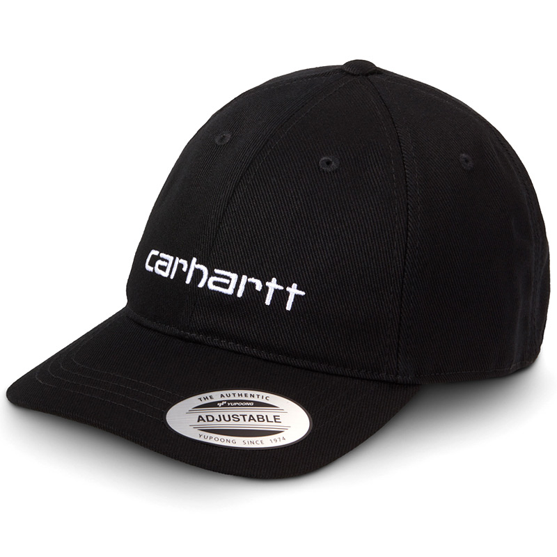 Carhartt WIP Carter Cap Black/White