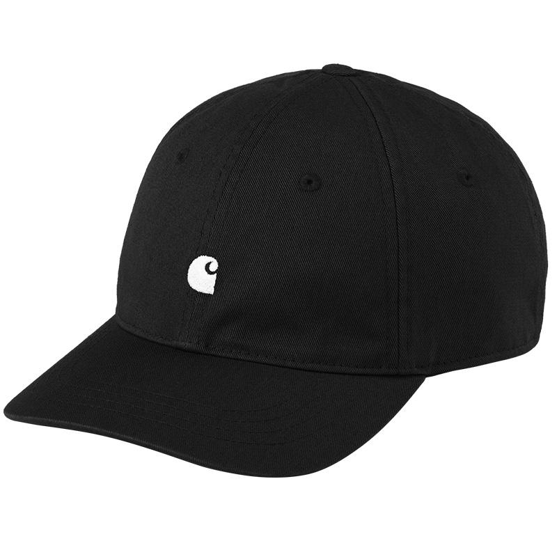 Carhartt WIP Madison Logo Cap Black/White