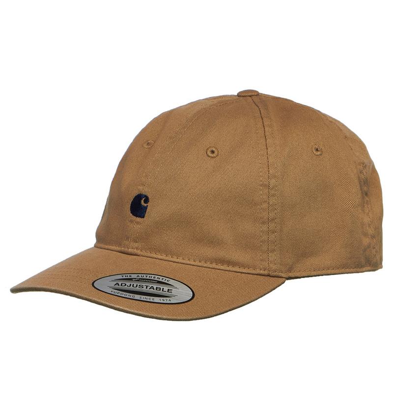 Carhartt WIP Madison Logo Cap Leather/Dark Navy