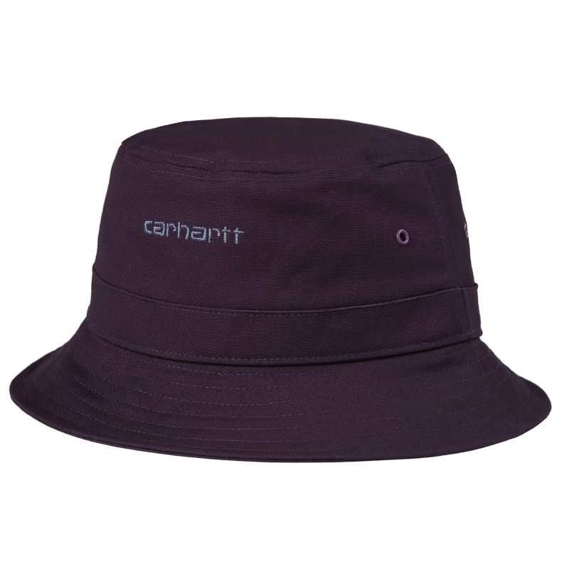 Carhartt WIP Script Bucket Hat Dark Iris/Cold Viola