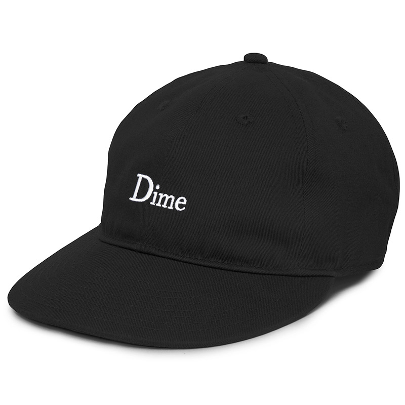 Dime Classic Logo Cap Black