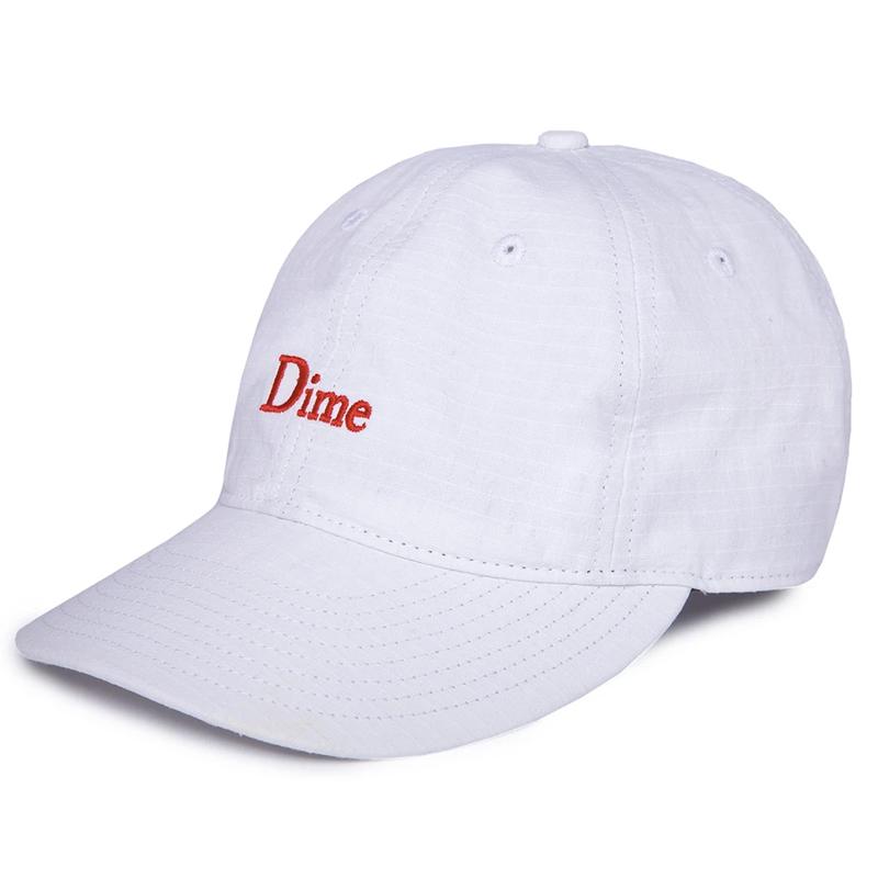 Dime Classic Logo Hat White