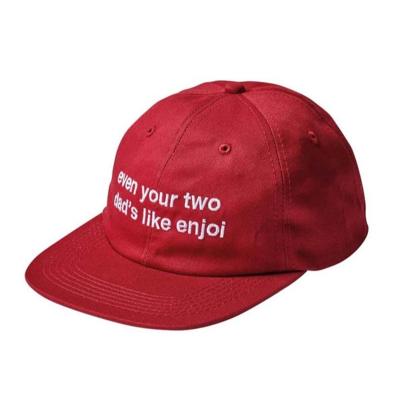 Enjoi Even Enjoi Hat Red