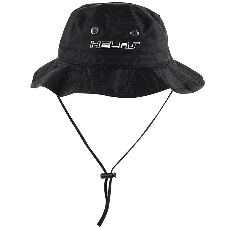 Helas Planet Bucket Hat Black