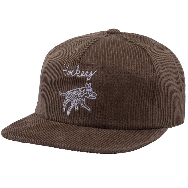 Hockey Dog 6panel Cap Olive/White