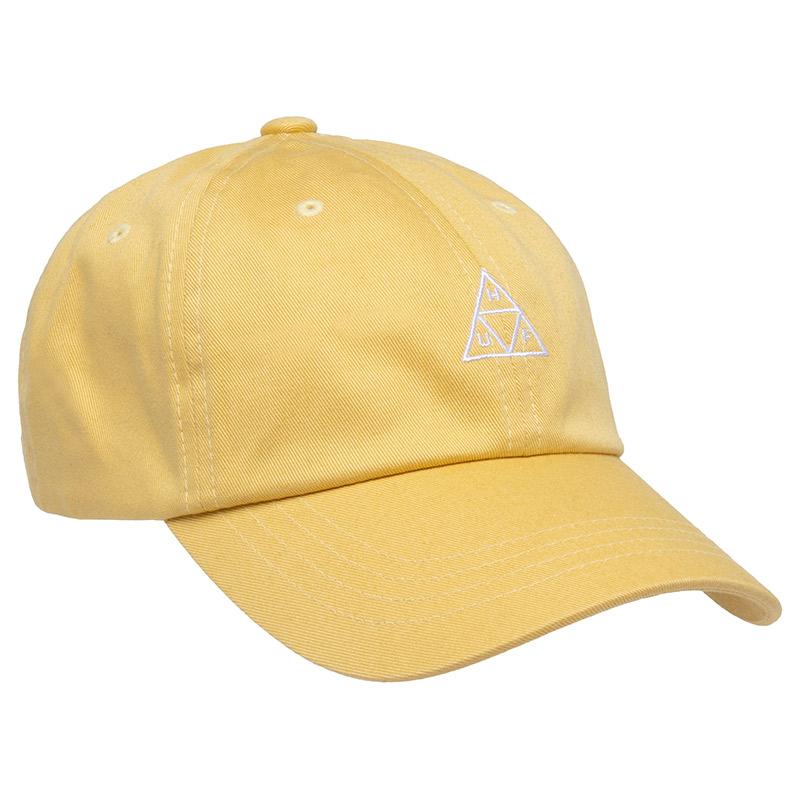HUF Essentials Tt Cv 6 Panel Hat Dijon