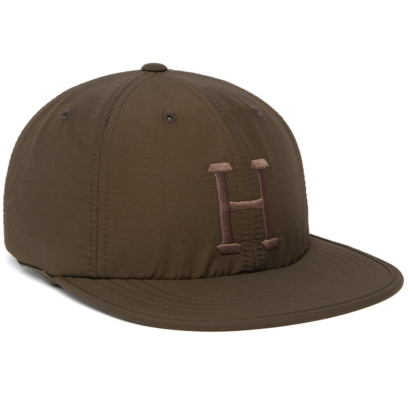 HUF Formless Classic H 6 Panel Cap Military Green