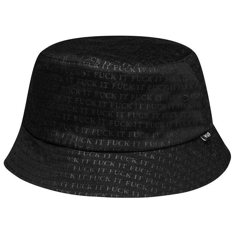 HUF Fuck It Reversible Bucket Hat Black/White