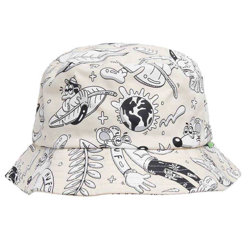 HUF X Steven Harrington Bucket Hat Natural